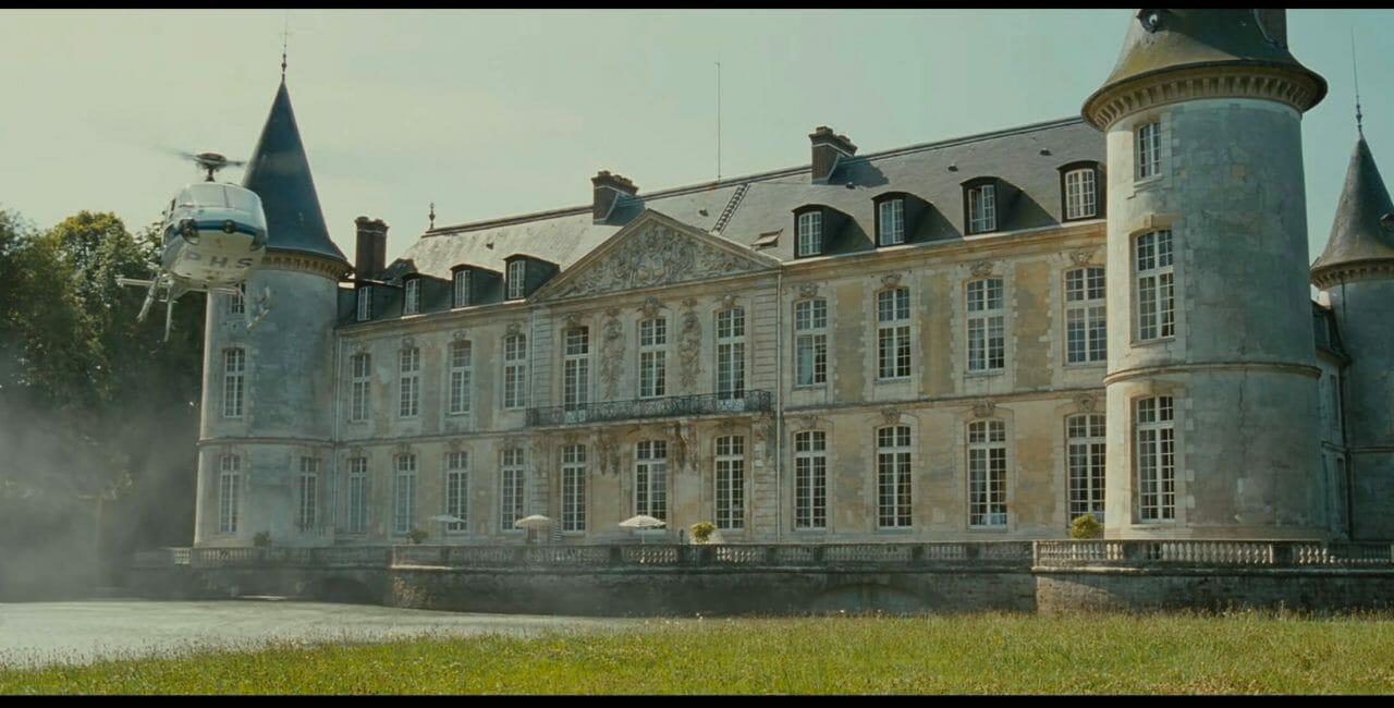 Scène au château de Montmirail (XXe siècle)