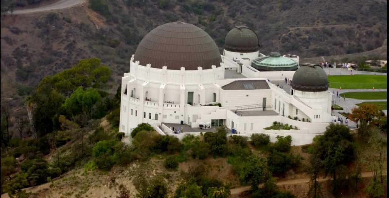 Scène à l'observatoire Griffith dans Lucifer